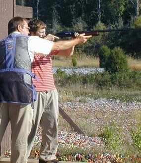 Shooting Instructor & Student